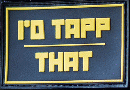 "TAPP Airsoft パッチ ""I'D TAPP THAT"""
